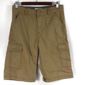 T426 Levi's Cargo Shorts Boys Size 16 Regular